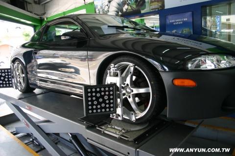 3D輪胎定位中